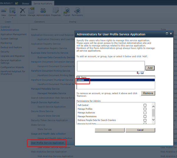 Configure permissions in SharePoint to avoid Access denied error