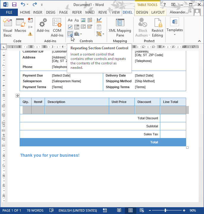 Invoice Prices Excel Sharepoint Workflow Creates Invoices With Variable Number Of Items Cool Invoices Word with How To Make A Professional Invoice Word How To Create Invoices With A Variable Number Of Items Uscis Receipt Pdf
