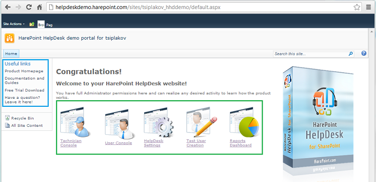 Testing Of The Product Features As Helpdesk Technician