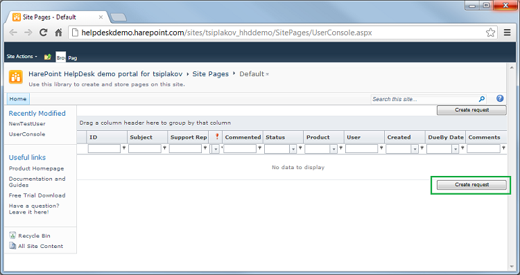 By Default Two Such Ons Are Displayed The First One Is At Begining Of List With Requests And Second Under