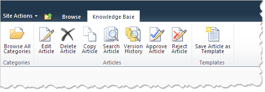 Harepoint knowledge base for sharepoint for Knowledge base template sharepoint 2013