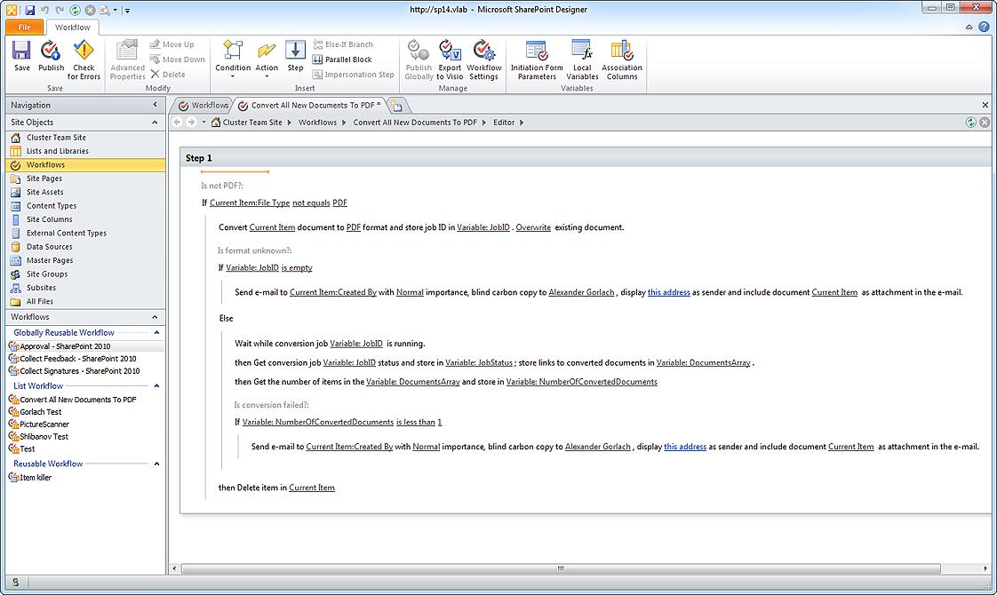 harepoint workflow extensions for sharepoint screenshots rh harepoint com SharePoint Training SharePoint Cheat Sheet