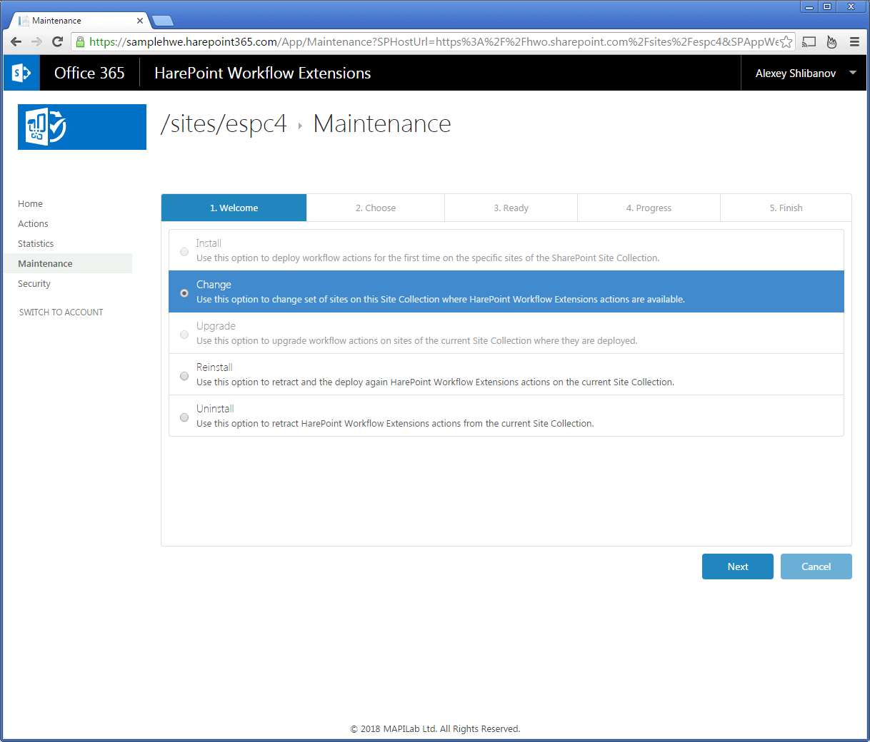Harepoint Workflow Extensions For Office 365 Screenshots