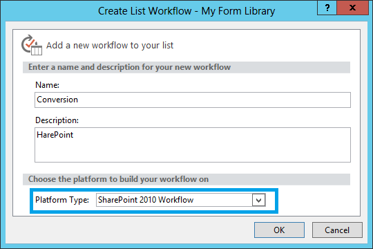 open sharepoint designer and connect it to your sharepoint site create a new list workflow for the form library note that sharepoint 2010 workflow