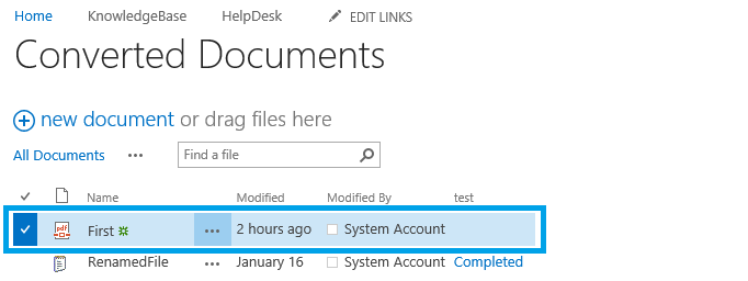 convert infopath form to pdf with sharepoint workflow