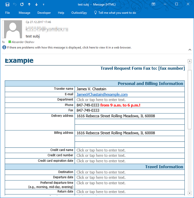 Email body to send from SharePoint workflow
