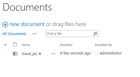 Upload composed email in SharePoint document library
