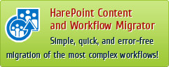 SharePoint Content and Workflow Migration