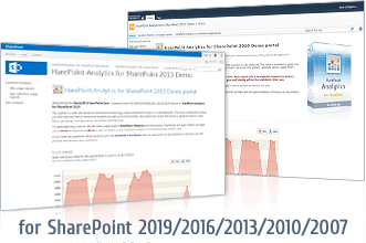 SharePoint Analytics demo site