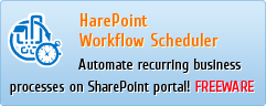 HarePoint Workflow Scheduler